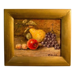 Exotic Fruit Still Life Painting
