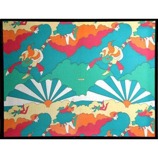 Peter Max Sunburst Fabric