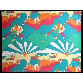 Peter Max Sunburst Fabric