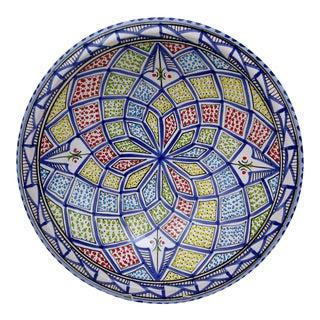Spanish Ceramic Large Serving Bowl