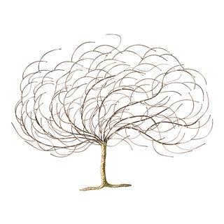 Copper & Brass Tree Sculpture