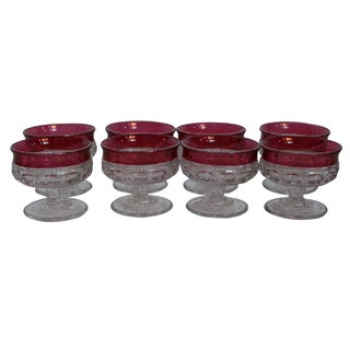 Indiana Glass Company Sherbet Glasses - Set of 8