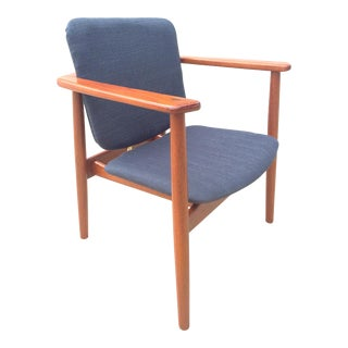 Danish Modern Børge Mogensen Teak Lounge Chair