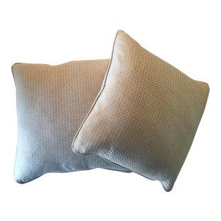 Nobilis Chevron Patterned Pillows - A Pair