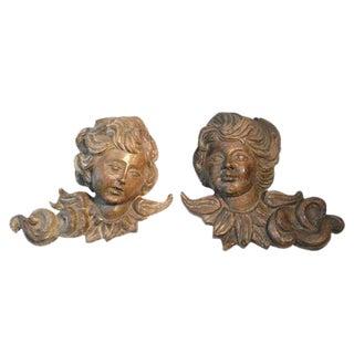 19th C South American Sherubs/Puttis - A Pair