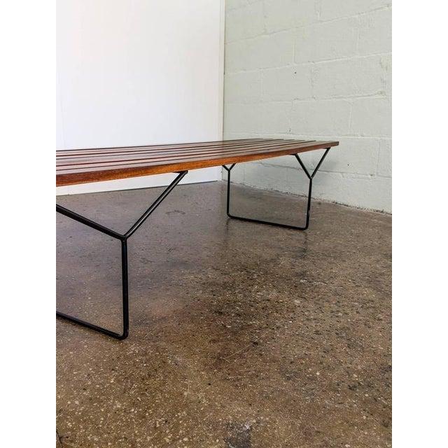 Modern Slat Bench - Image 5 of 7