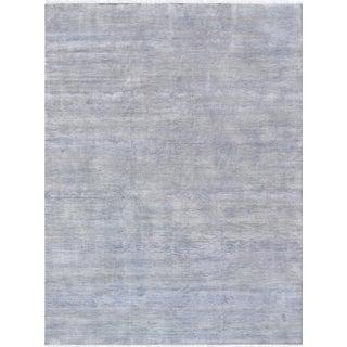 Pasargad Transitiona Silk & Wool Area Rug - 9′1″ × 12′3″