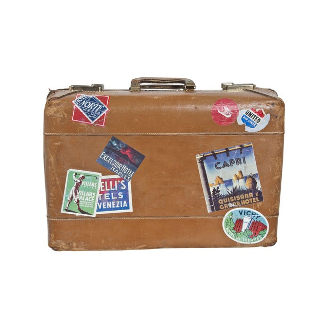 Vintage Suitcase - Image 1 of 4