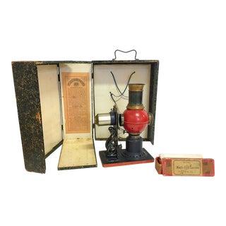 1850s Vintage Lanterna Magica Projector