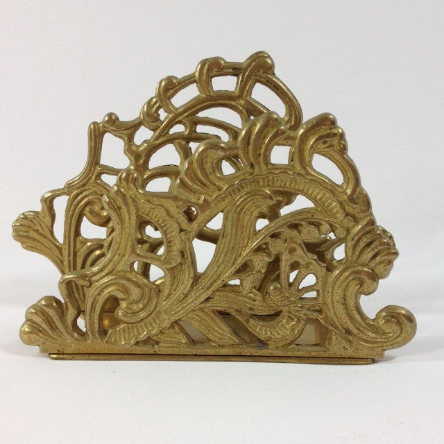 Brass Letter Holder - Image 5 of 5