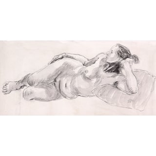 """""""Daydreaming"""" Charcoal Nude"""