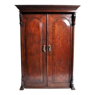 British Colonial Victorian Armoire