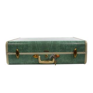 Samsonite Green Marble Suitcase
