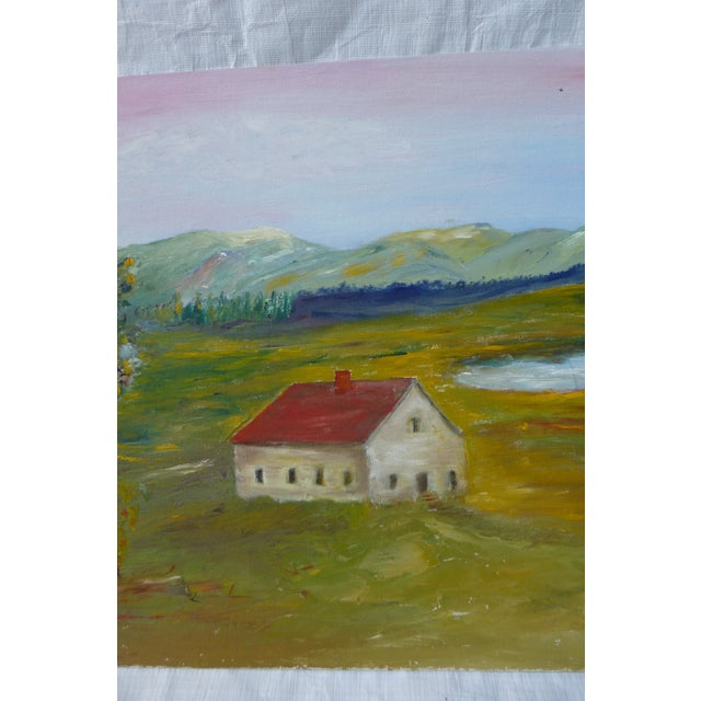 MCM Painting Rural Scene by H.L. Musgrave - Image 4 of 6