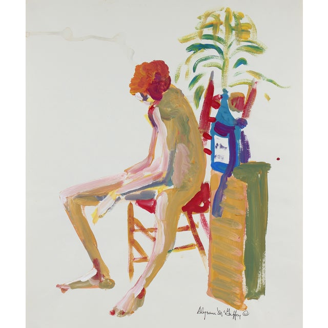 Image of Bay Area Figurative Painting by A. McGaffey