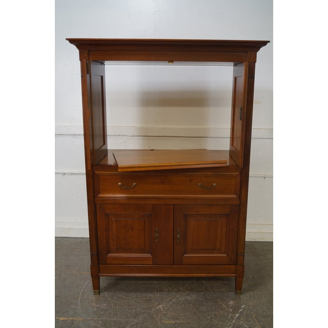 Grange French Directoire Style TV Armoire - Image 10 of 10