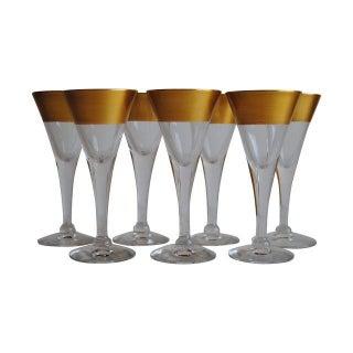 Dorothy Thorpe Cordial Glasses - Set of 7