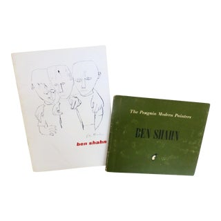 Ben Shahn, Two Vintage Catalogs