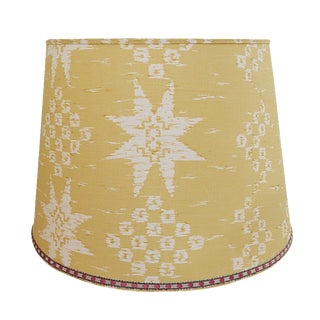 Custom Yellow Lamp Shade