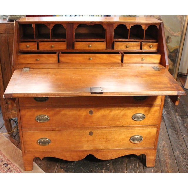 Cherry Fall Front Desk, Circa 1800 - Image 2 of 11