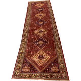"""Vintage South West Persian Abadeh Runner- 2'-8"""" X 10'"""