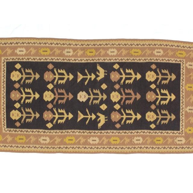 "Anatolian Kilim Rug - 3'3"" X 6'5"" - Image 5 of 6"