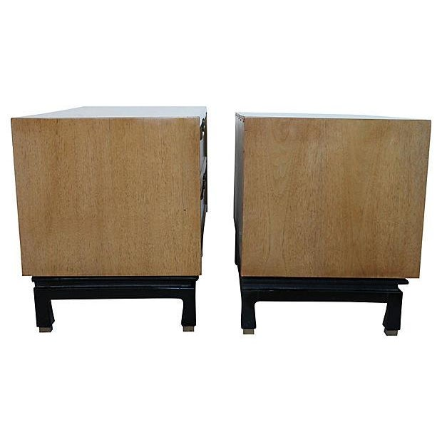 Image of American of Martinsville Tables - Pair