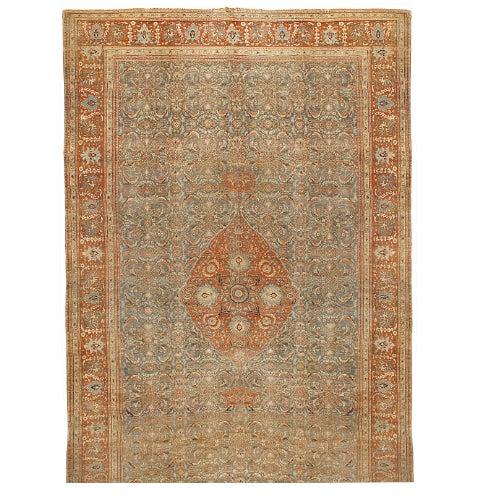 Antique Oversize 19th Century Persian Tabriz Carpet - Image 1 of 1