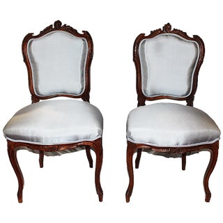 French Salon Chairs - A Pair