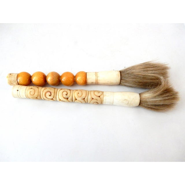 Image of Calligraphy Brushes- A Pair