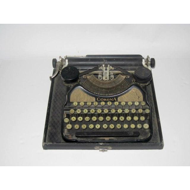 Corona Art Deco Typewriter - Image 2 of 7