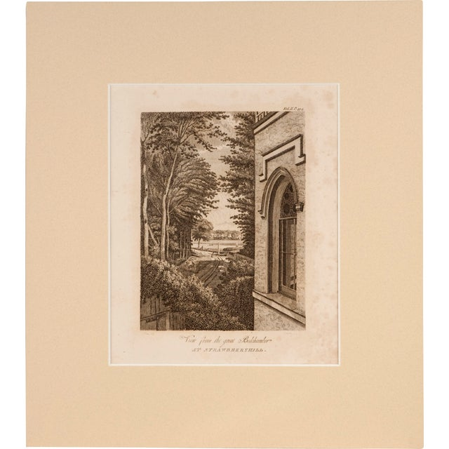 Strawberry Hill Engraving - Set of 3 - Image 2 of 4