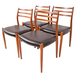 Niels Moller Model 78 Dining Chairs - Set of 4