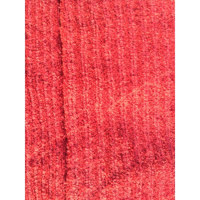 "Red Hand-Tufted Rug - 4'8"" x 6'8"" - Image 8 of 8"