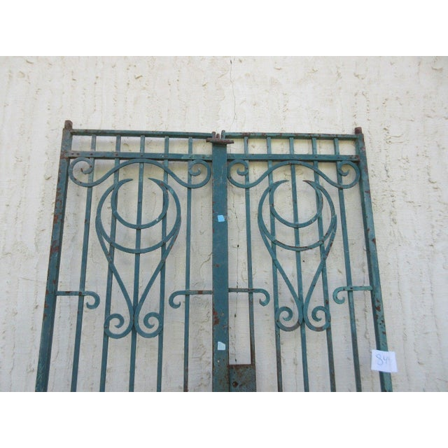Antique Victorian Iron Gates - A Pair - Image 8 of 8