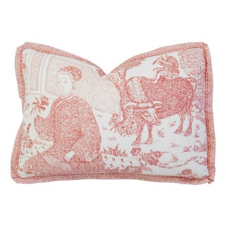 Brunschwig & Fils Chinoiserie Toile Pillow