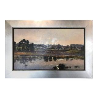 "Jim McVicker ""Loleta Winter"" Impressionist Oil Painting"