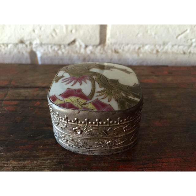 Vintage Pottery Fragment Trinket Box - Image 4 of 6