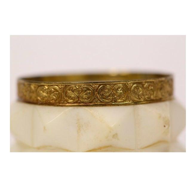 Image of Antique Marble & Ormolu Jewelry Casket
