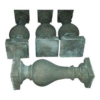 1800s Mansion Balusters - Set of 12