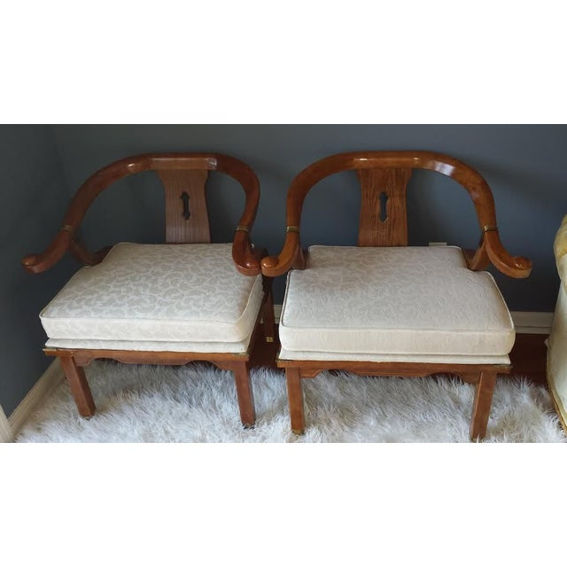James Mont Style Chairs - A Pair - Image 2 of 8