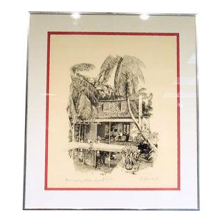 Hemingway's Studio Print