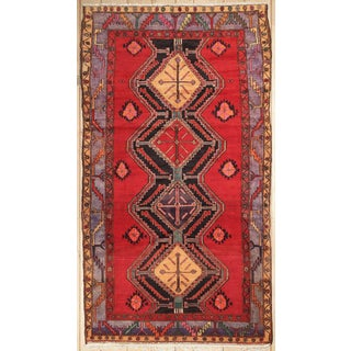 Antique Afshar Design Persian Rug - 5'3''x9'4''