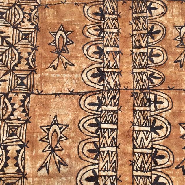 Tapa Cloth Wall Hanging - Image 3 of 10
