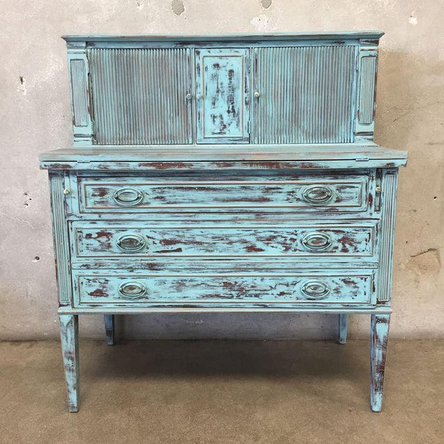 Restored Federal Style Secretary Desk - Image 3 of 10