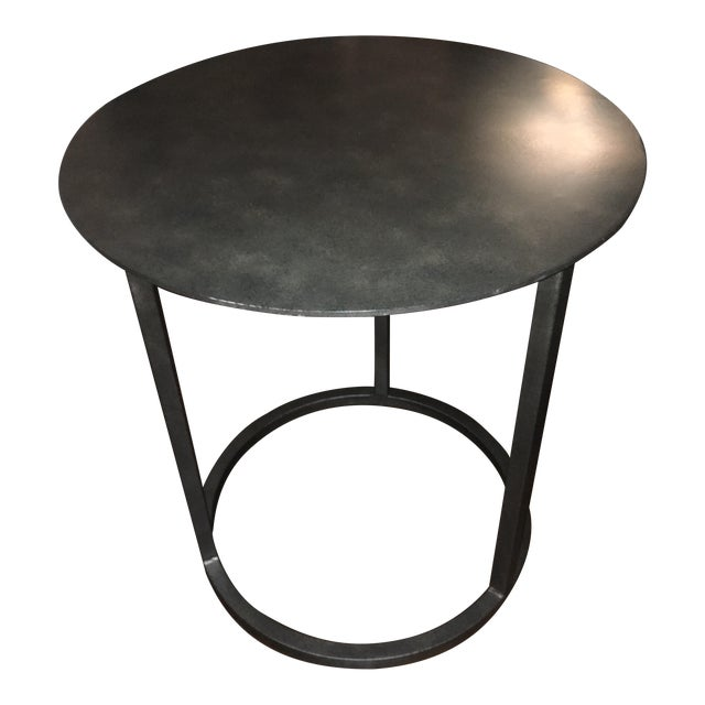 Martens Round Coffee Table Restoration Hardware 36 Inch: Restoration Hardware Mercer Round Side Table