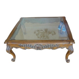 Glass Top Coffee Table - Make Offer