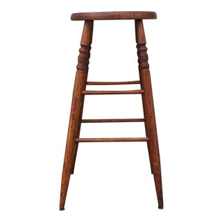 Shaker Style Weavers Stool from New England