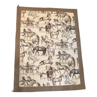 Pierre Frey Equestrian Wall Hanging Textile