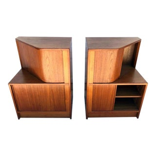 Poul Hundevad Teak Cabinets or Nightstands - a Pair